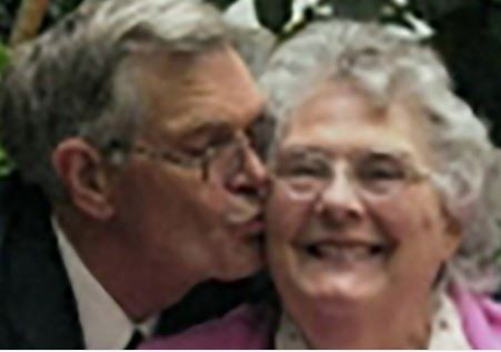 Couple married for 63 years die minutes apart at their home
