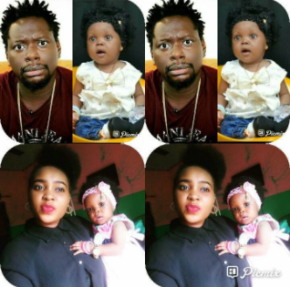 Nigerian lady alleges that married comedian, Klint Da Drunk is the father of her child (photos)