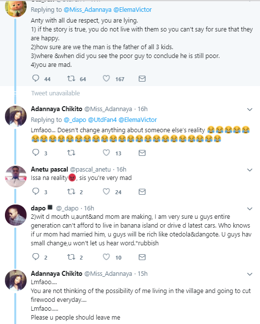 Lol. Nigerians are vexing after a woman shared this tweet... see Twitter reactions (screenshots)