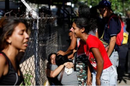 At least 68 die in huge fire after Venezuela prison riot