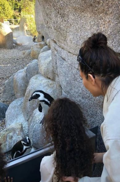 Kanye West is all smiles as he spends father-son time with Saint during family trip to California Zoo (Photos)