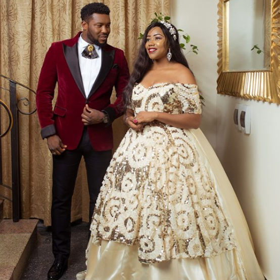 Photos:  Gulder Ultimate search VI winner, Uche Uwaezeapu weds his girlfriend who slid into his DM and won his heart