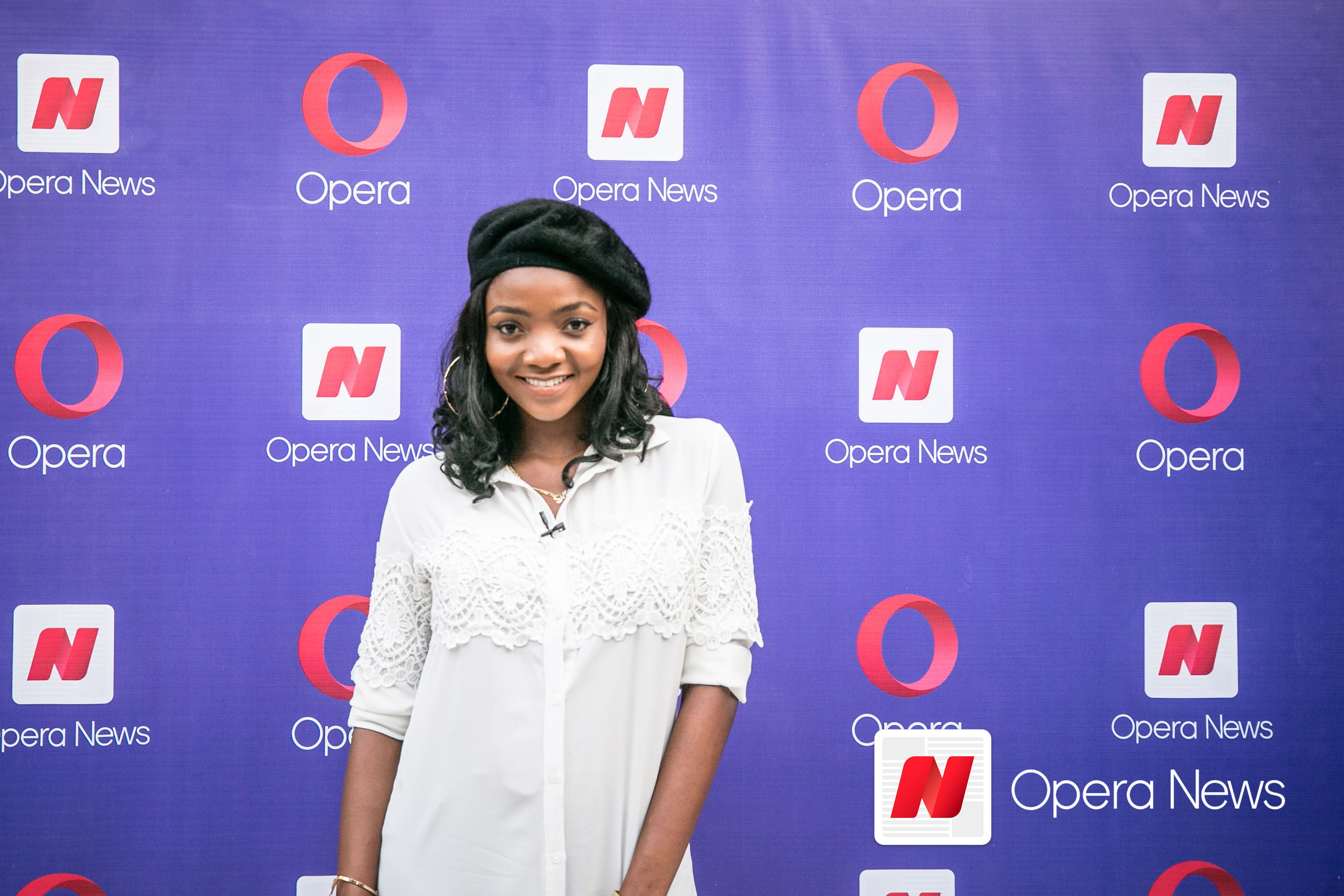 Simi thrills audience at the #Opera?Confam? Meet and Greet