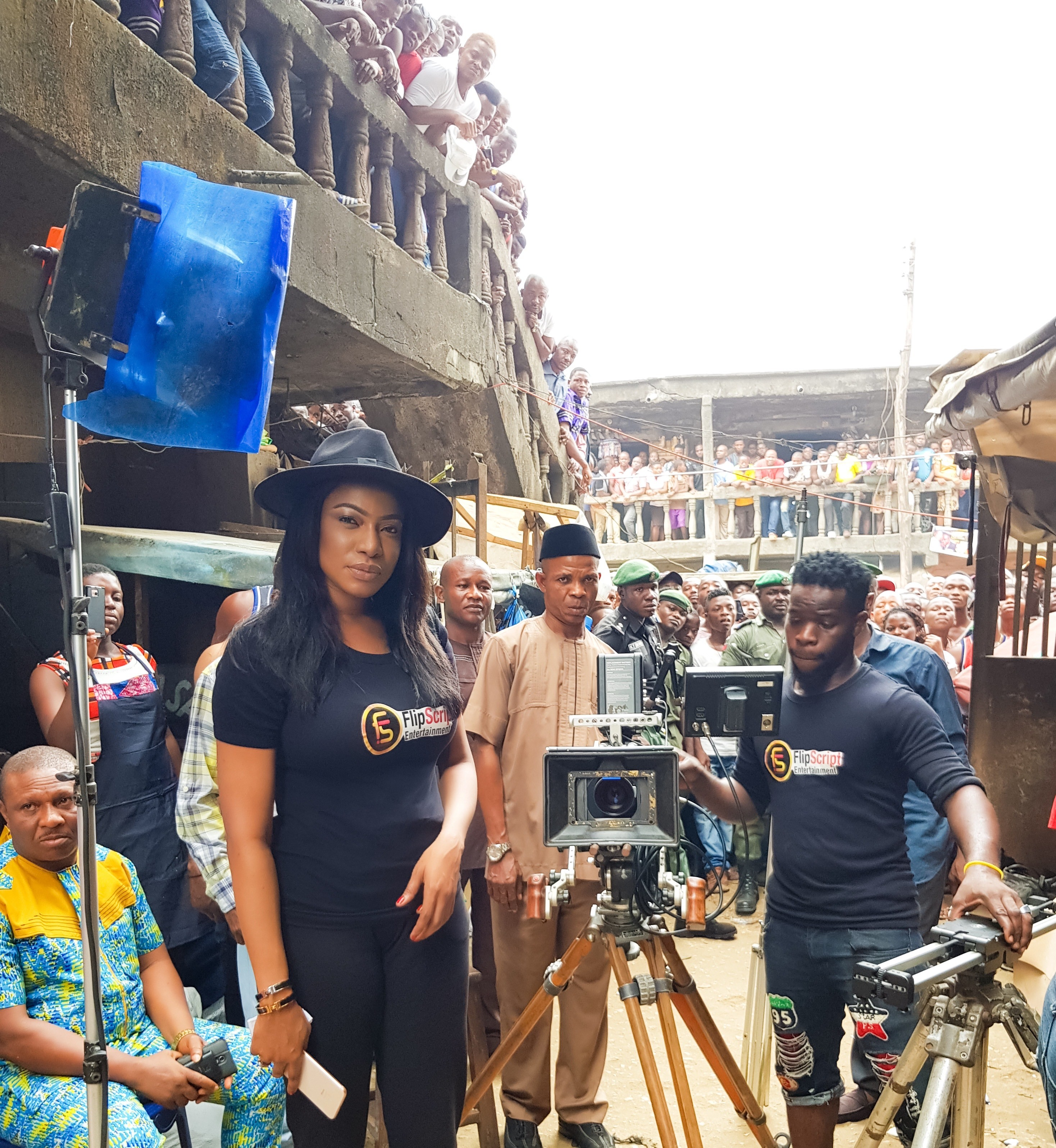 Filmmaker, ?Chika?Ike?Shoots a TV Commercial for Abia State Government