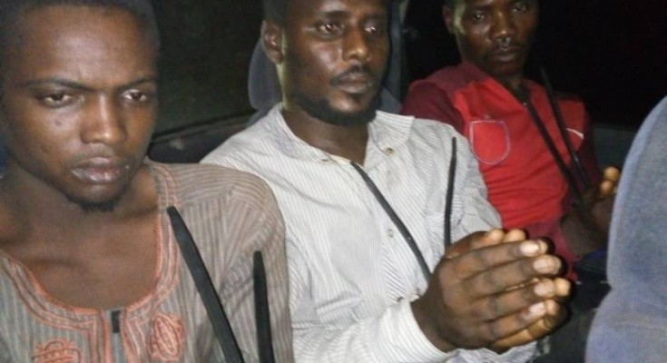 Photos: Wanted Boko Haram terrorists, three others arrested
