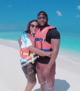 Photos: Fatima Dangote & her husband, Jamil Abubakar go on a honeymoon to an exotic Island
