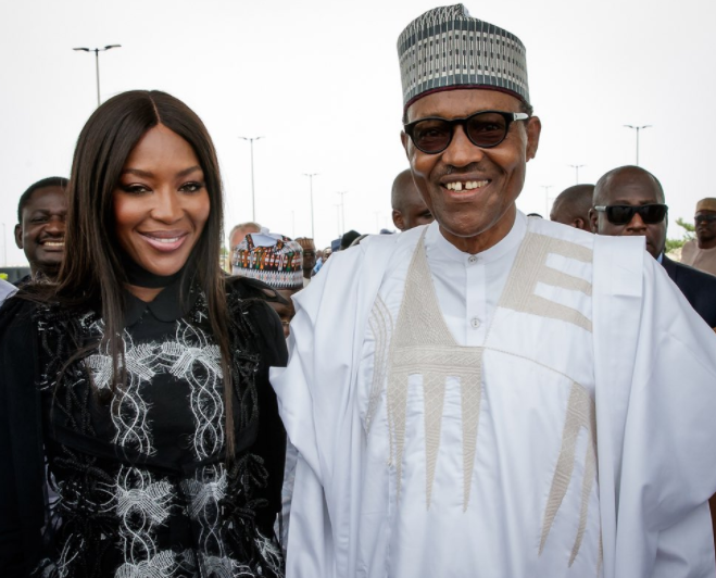 Nigerians react to Naomi Campbell
