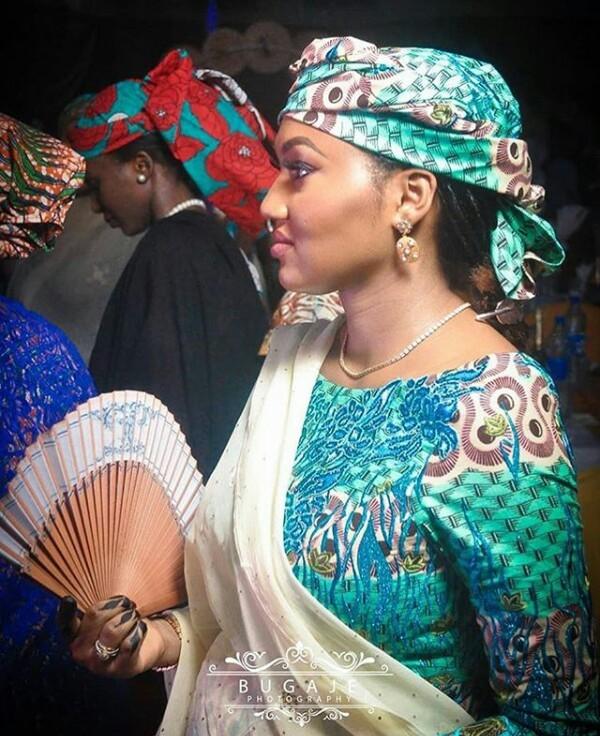 Photo: Zahra Buhari-Indimi debut her growing baby bump