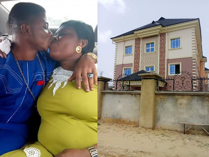 Nigerian pastor surprises wife with a house on her birthday for accepting him when he had nothing