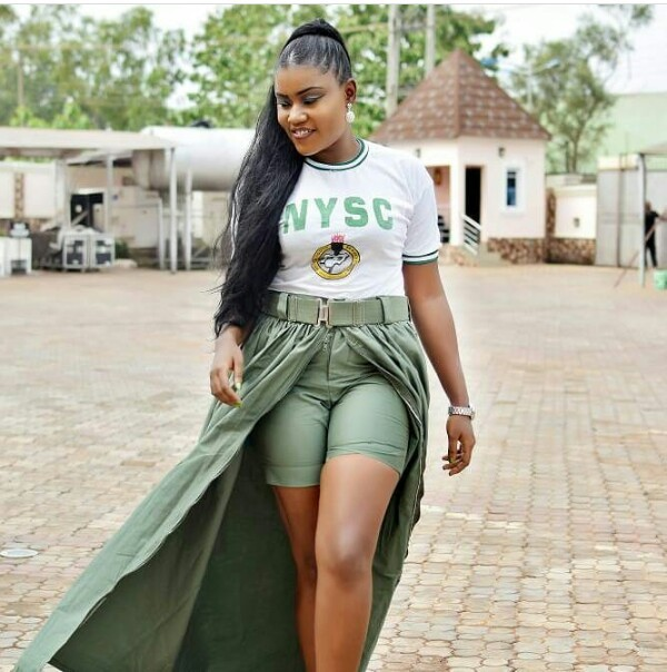 Check out how this corps member slayed in her NYSC khaki