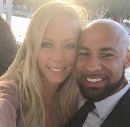 Looks like Hank Baskett and Kendra Wilkerson are heading for divorce