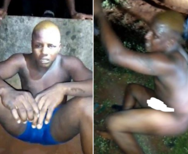 Suspected homosexual caught pants down while trying to sleep with young boy in Edo State?