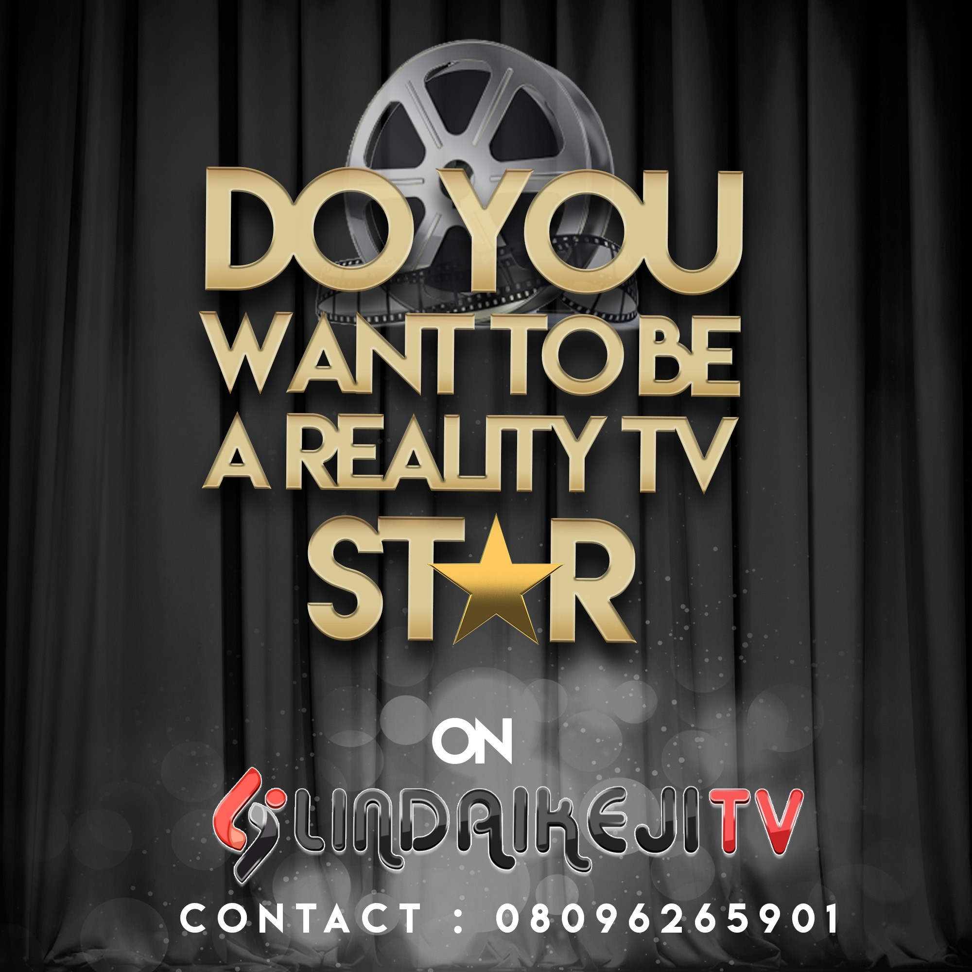 Do you want to be a reality star on LindaIkejiTV?