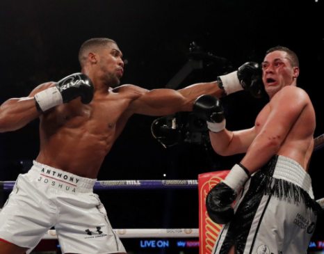 Girls on social media are excited that Anthony Joshua could last