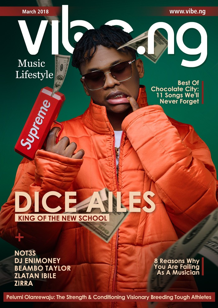 Dice Ailes reveals how he almost got kidnapped, as he covers Vibe.ng Magazine