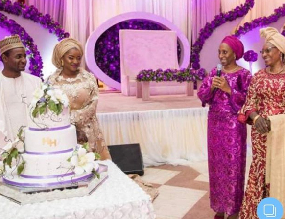 Photos from the wedding of Aisha Buhari