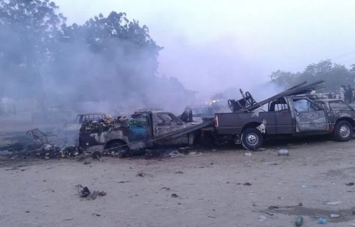 15 killed, 55 Persons injured in Boko Haram attack in Maiduguri