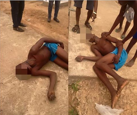 Ebonyi State prince allegedly?dies in police custody with rope tied to his neck