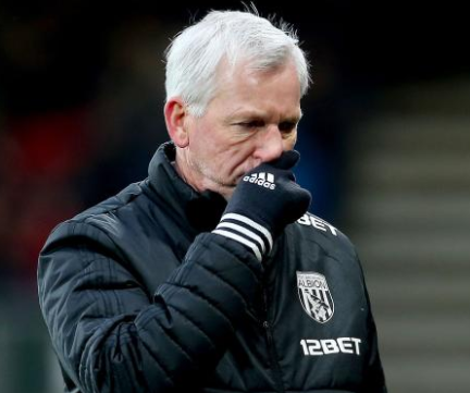 West Brom sacks Alan Pardew after winning only one match in 18 games