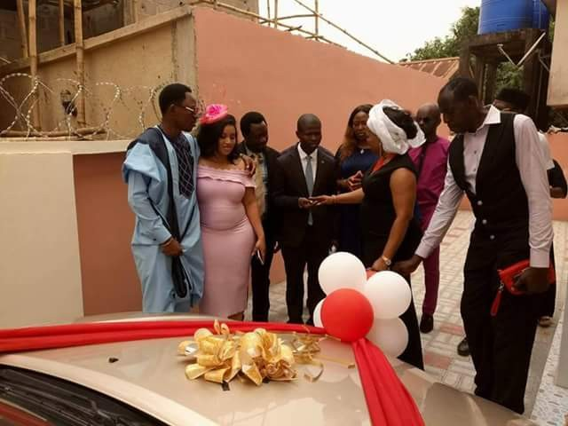 Photos: Delta State House of Assembly Deputy Speaker, Friday Osanebi gives 5 bedroom Duplex and Toyota Camry to two of his aides