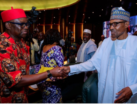 Governor Fayose accuses President Buhari of rewarding looters who decamped from PDP