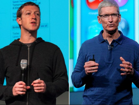 Mark Zuckerberg fires back at Tim Cook?s criticism of Facebook