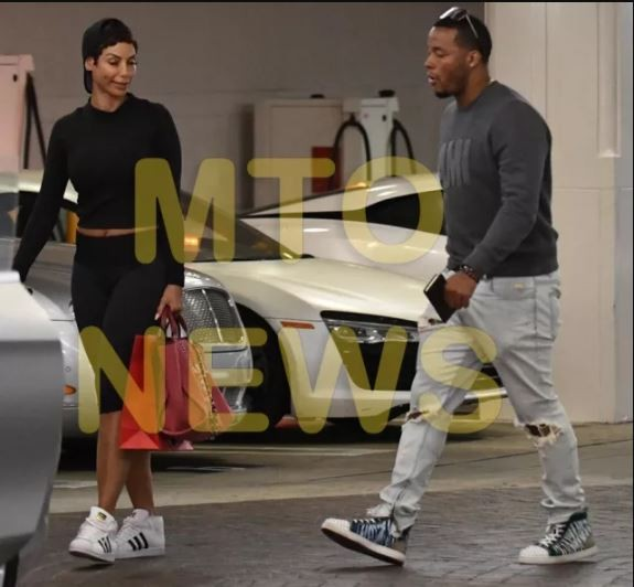 Nicole Murphy, 51 steps out with mystery young man as they go shopping together in Beverly Hills(Photos)