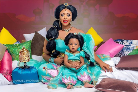 Mimi Orjiekwe pulls out all the stops to celebrate her daughter
