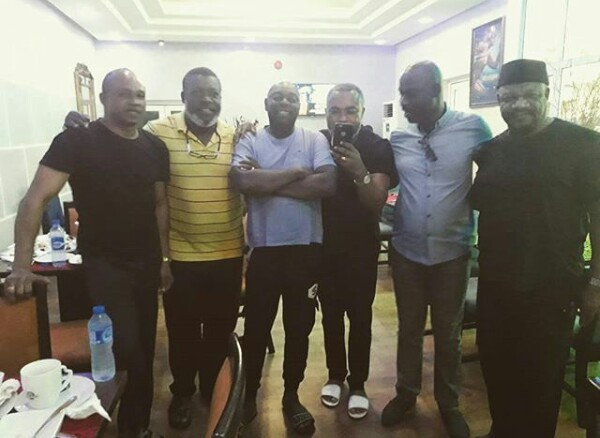 Some of Nollywood legends in one photo!