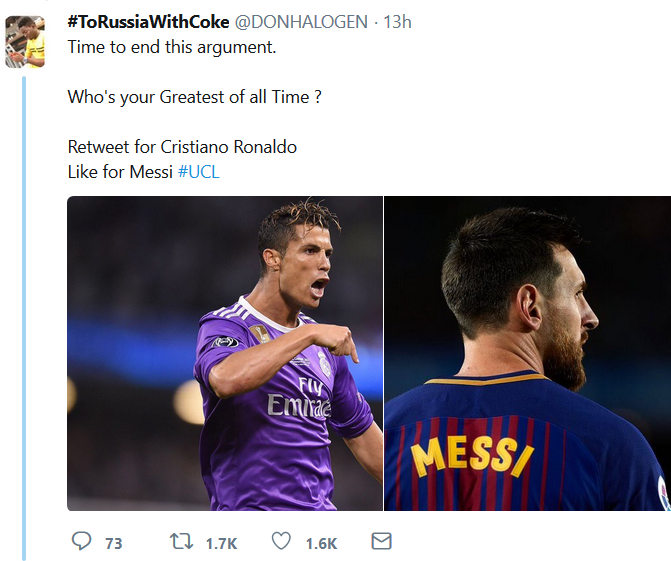 Ronaldo vs Messi: Looks like people now agree that Ronaldo is the greatest of all time!