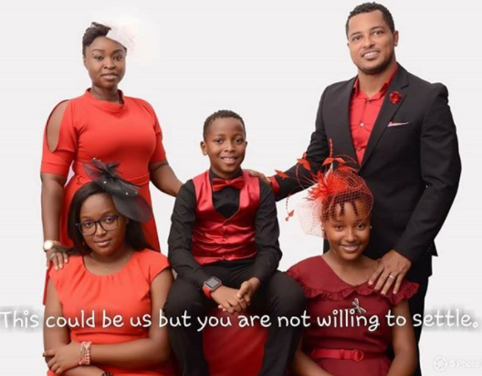 Van Vicker shares beautiful family photos