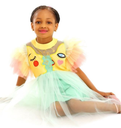 Footballer, Jude Ighalo shares adorable photos of his daughter as she celebrates her birthday