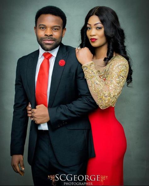 Nollywood actor, Gabriel Afolayan shares pre-wedding photos