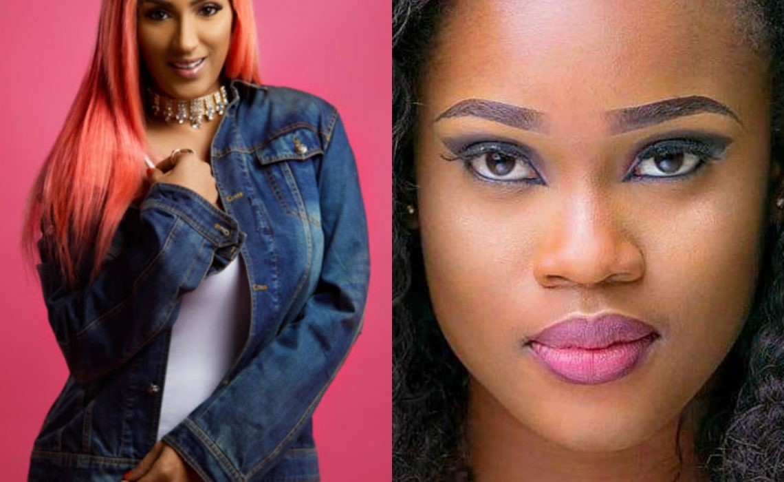 Days after Juliet Ibrahim promised to make Cee-C ambassador for her eyelashes brand, Cee-C is already talking about it in the Big Brother House (Video)