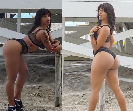 Reality star Joseline Hernandez shows off her bikini body