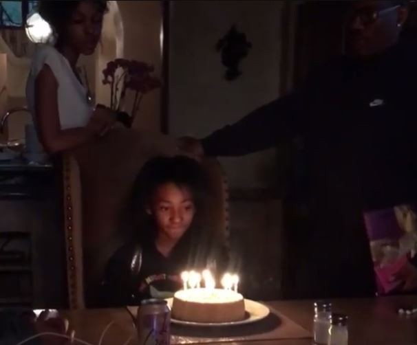 Eddie Murphy and the daughter he previously denied celebrate their birthday together (Video)