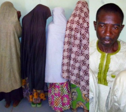 35 year old man arrested for abducting four underaged girls and turning them into sex slaves in Kebbi