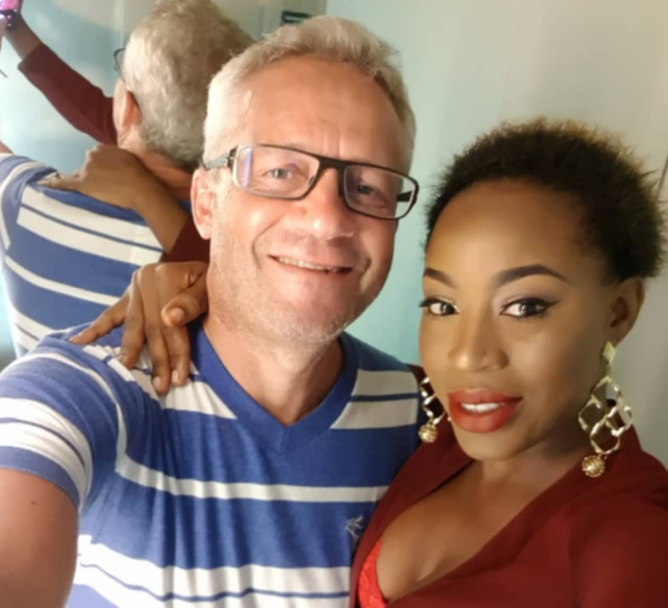 Exclusive death photos of late Nigerian singer, Alizee who was allegedly murdered by her husband at their Banana Island home today