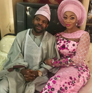 First photos from the traditional engagement of actor, Gabriel Afolayan and Adebanke