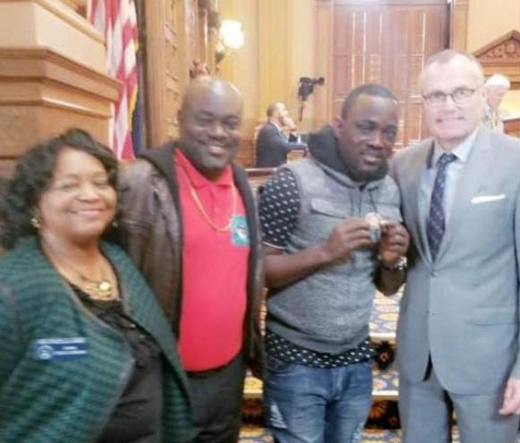 Georgia State honours Nigerian fuji musician, Pasuma with citizenship