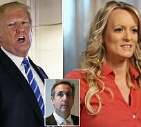 Trump denies knowing that his lawyer paid porn star Stormy Daniels to keep her from talking about their sexual affair
