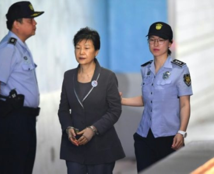 Abuse of Power:?Ex-South Korean President,?Park Geun-hye jailed for 24 years