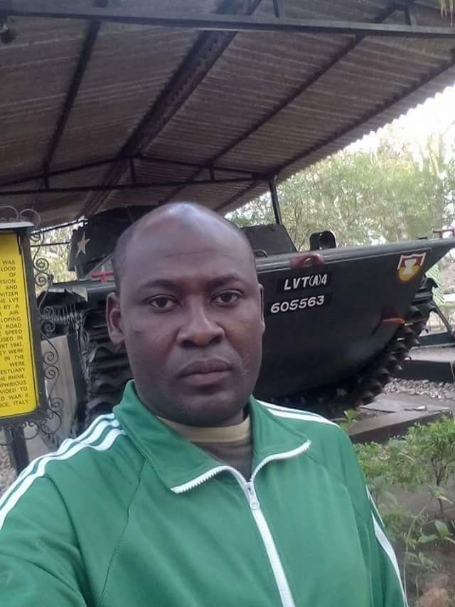 Photos of Captain Suleiman Muhammed killed in fierce gun battle between the army and bandits in Zamfara state