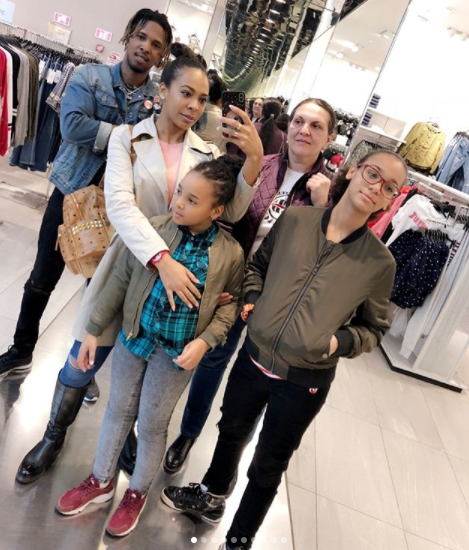 TBoss shares beautiful photos from her visit to her family members in Romania