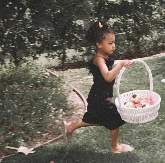 Kim Kardashian releases more adorable photos of herself, Kanye, and their 3 kids