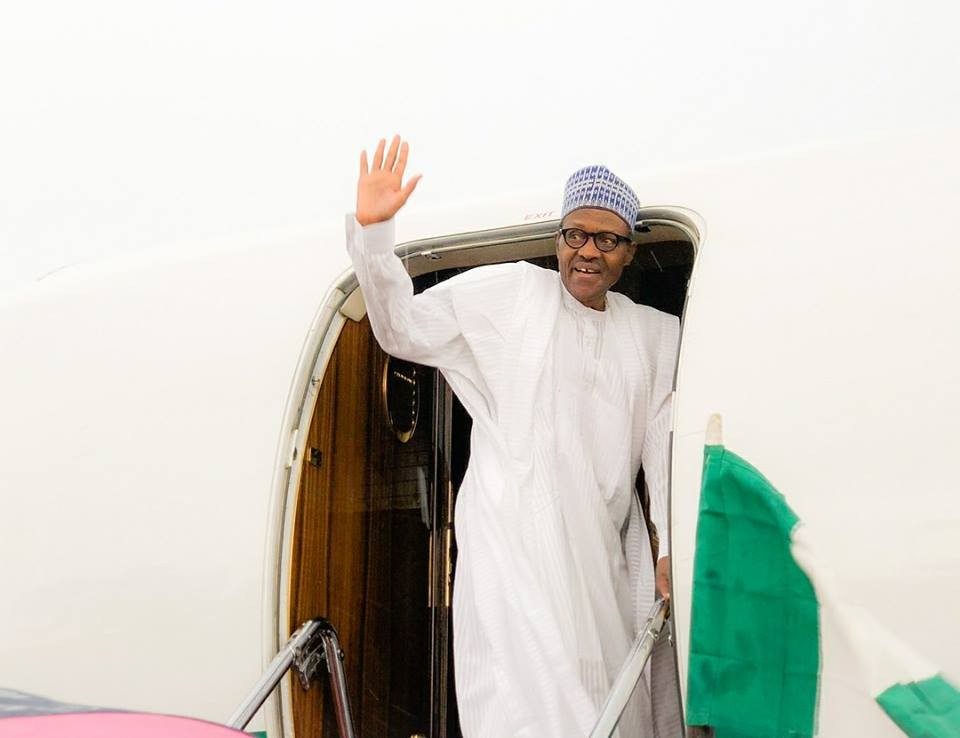 Photos: President Buhari visits Katsina, to pay condolence visit to late Senator Bukar
