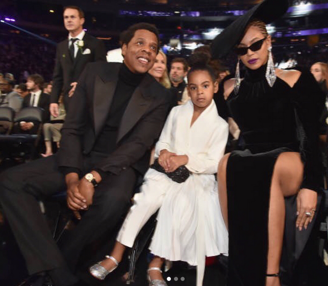 6 year old Blue Ivy Carter has her own personal stylist...