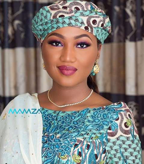 Beautiful photo of pregnant Zahra Buhari-Indimi