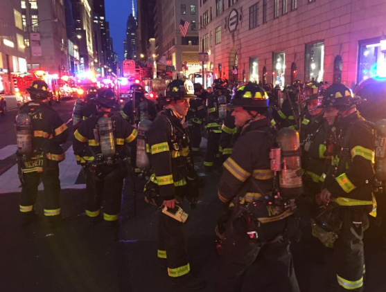 67-year old man dies and 6?firefighters injured as fire broke out on the 50th floor to Trump Towers