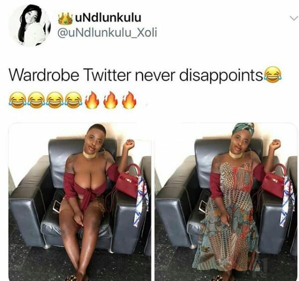 Lol. Wardrobe Twitter strikes again! (photos)